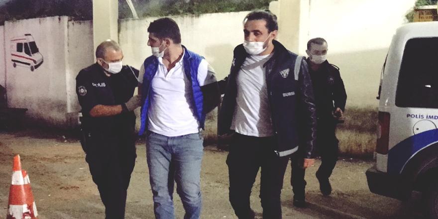 Bursa'da Polisten Kaçarken Yola Attığı Çantadan Uyuşturucu Çıktı