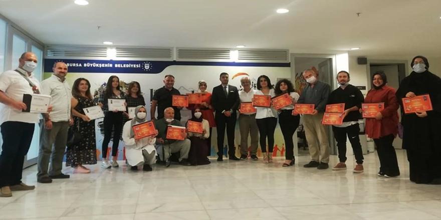 Bursa'da Medya OkuluSertifika Heyecanı!