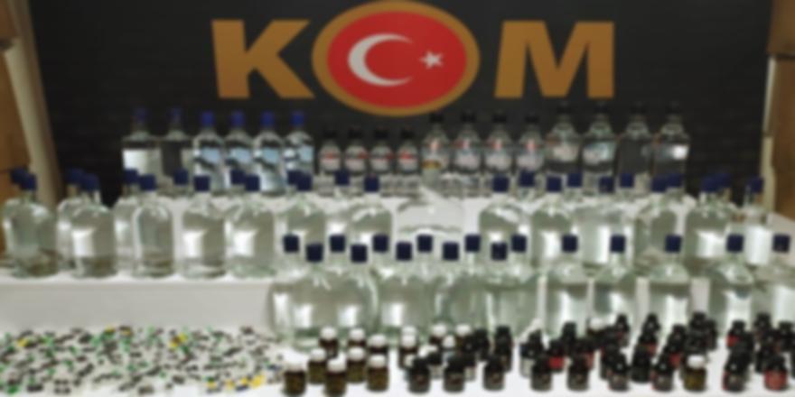 Bursa'da Sahte İçki Operasyonu! 2 Kişi Yakalandı