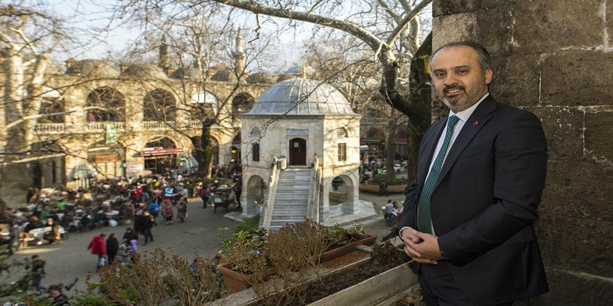 Bursa'da Tarihi Ulu Cami Ve Çarşılar Şehir İle Bütünleşiyor