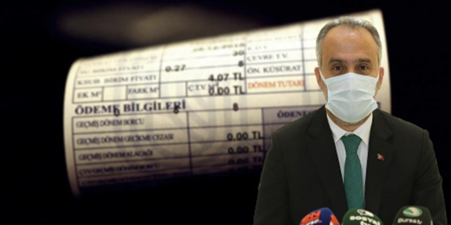 Bursa'da Su Fiyatlarına İlişkin Başkan Aktaş'tan Açıklama!