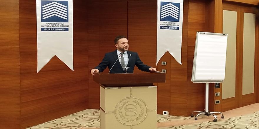 Ak Parti Bursa Milletvekili Atilla Ödünç Yapı Denetim Sektörü Hakkında Konuştu