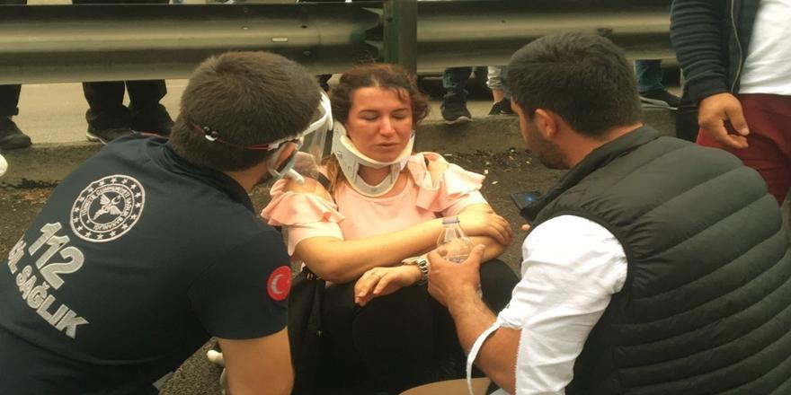 Bursa'da Kaza! 4 Kişi Yaralandı