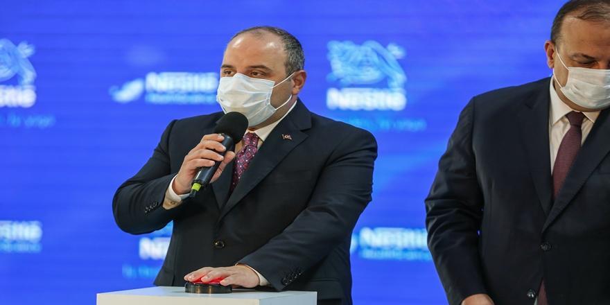 Sanayi Ve Teknoloji Bakanı Mustafa Varank Bursa'da! Fabrika Temeli Atıldı