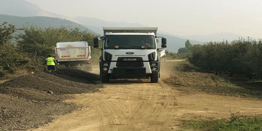 Gürsu'da TarımYolları İyileştiriliyor