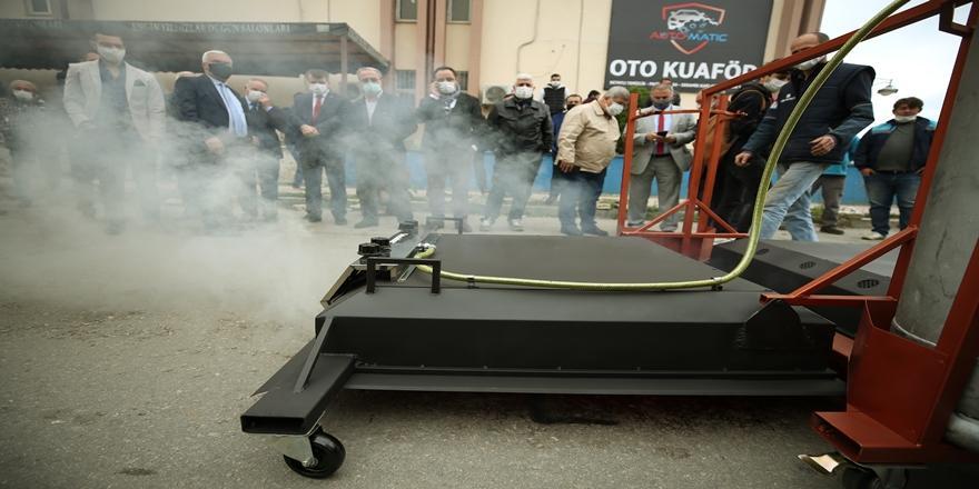 Bursalı Firma Sıfır Atık Ve Az Maliyetle Çalışan Asfalt Tamir Makinesi Üretti
