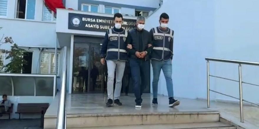 Bursa'da Cezaevi Firarisi Yakalandı