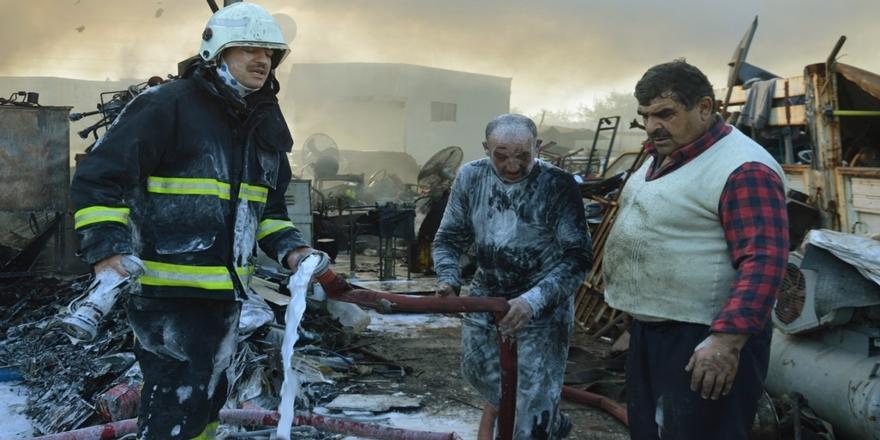 Bursa'da Yangın! Hurda Tesisinde Ağır Hasar Oluştu
