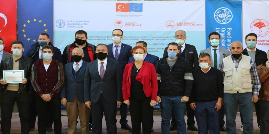 Bursa'da Uygulamalı Çiftçi Okulu Projesi! Dersler Başladı