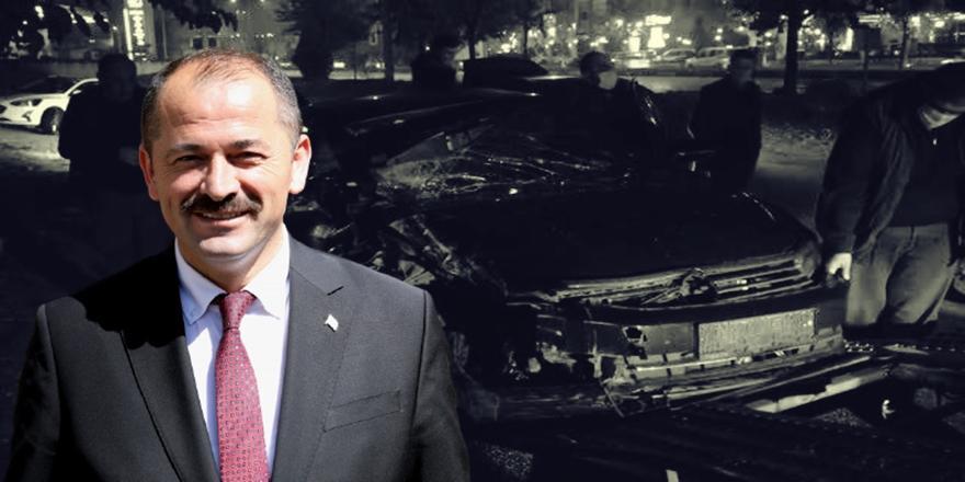 Bursa'da Orhaneli Belediye Başkanı Ali Aykurt Kaza Yaptı