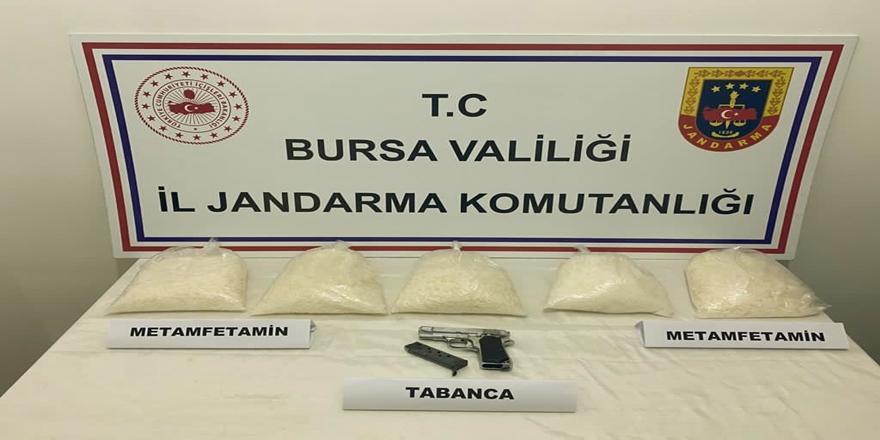 Bursa'da Uyuşturucu Operasyonu! 5 Kilogram Metamfetamin Ele Geçirildi