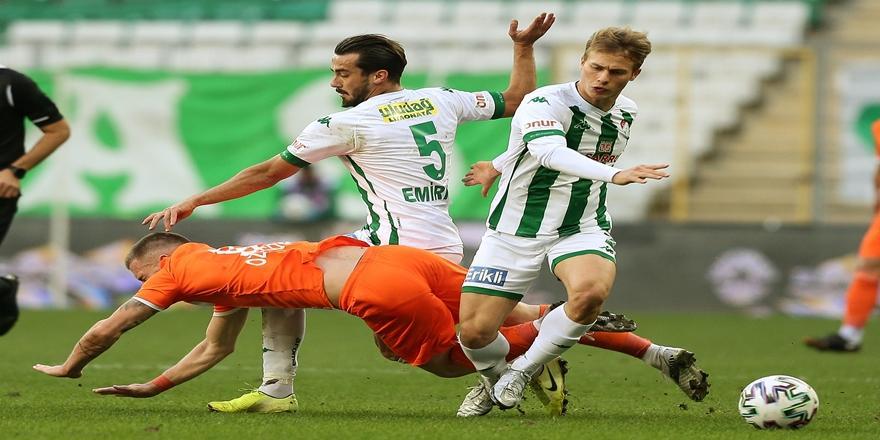 TFF 1. Lig: Bursaspor: 1 - Adanaspor: 0
