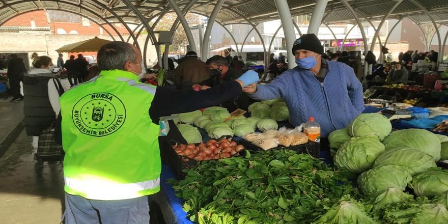 Bursa'da Koronavirüs Alarmı! Semt Pazarları Mercek Altında