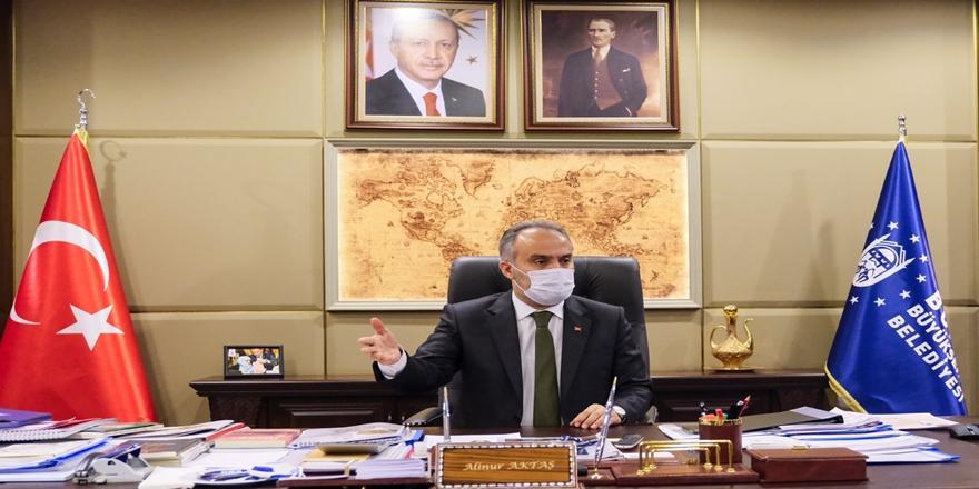 Bursa Esnafına Büyükşehir Belediyesinden Su Faturası Desteği