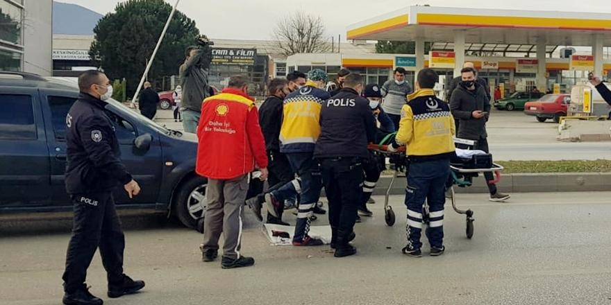 Bursa'da Kaza! Yaşlı Adama Otomobil Çarptı