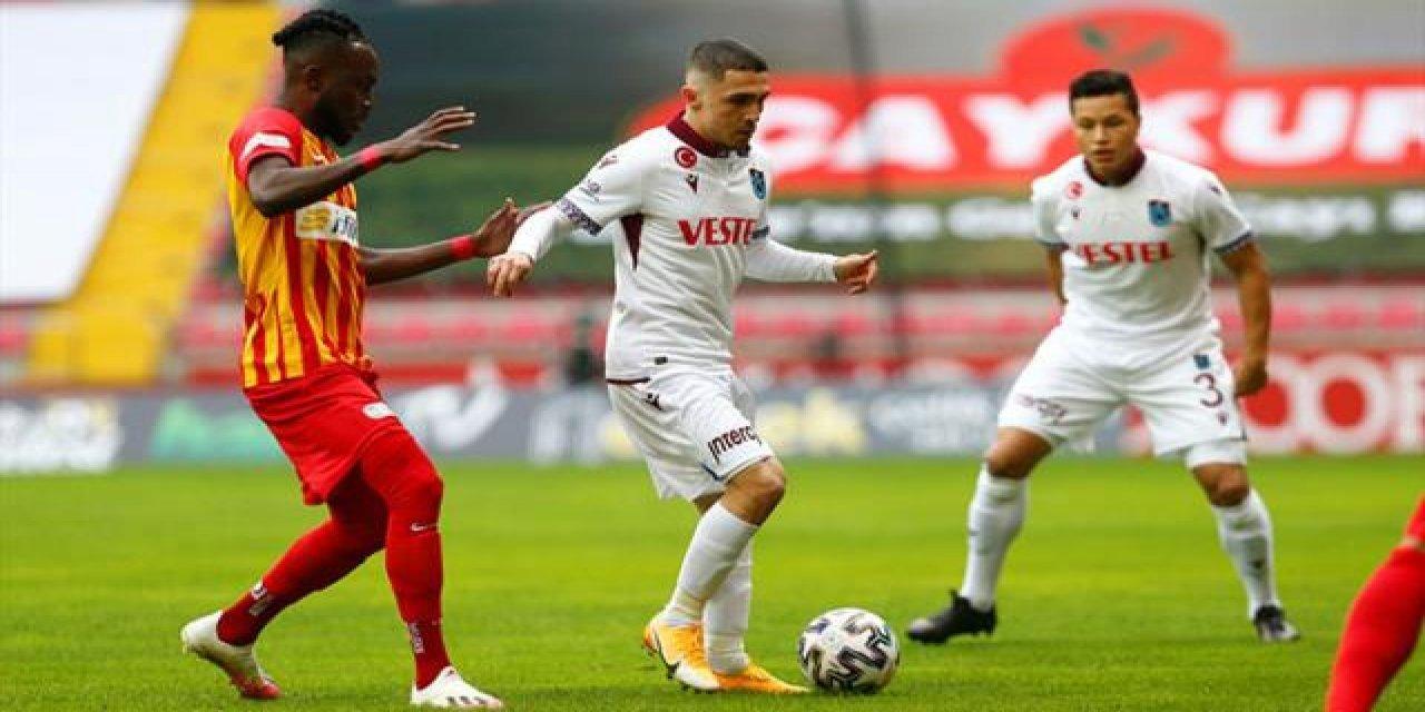 Trabzonspor Avcı İle Kayseri'de 2. Defa Berabere Kaldı!