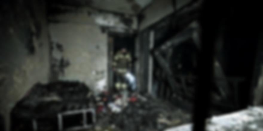 Bursa'da Yangın! Bir Daire Kullanılamaz Hale Geldi