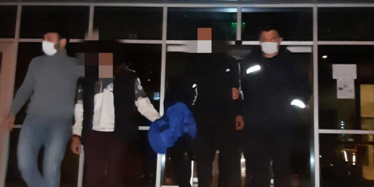 Edirne'de Bir Depodan Zeytin Çalan 3 Şüpheli Tutuklandı!