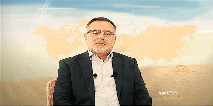 Bursa İl Müftüsü İzani Turan'dan Sofuoğlu'na Destek!