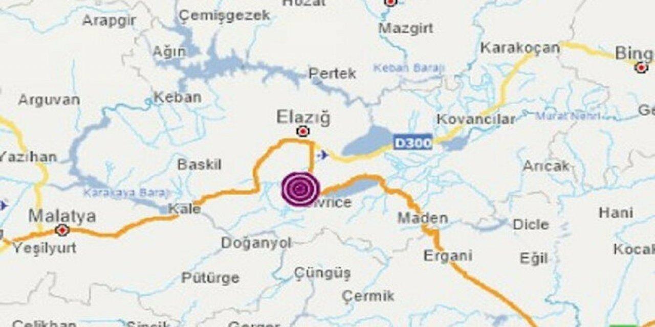 Elazığ Sivrici'de 4.1 Büyüklüğünde Deprem Gerçekleşti!