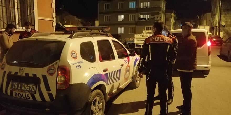 Bursa'da Sokağa Çıkma Kısıtlamasını İhlal Eden 10 Kişiye Ceza