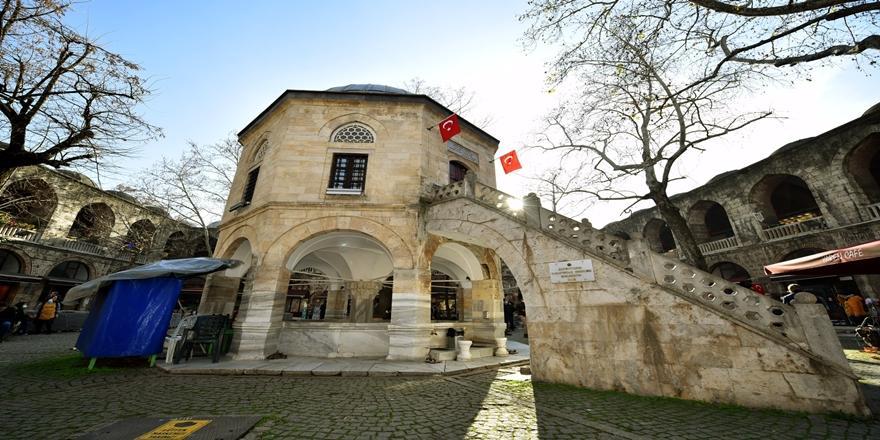 Bursa Tarihi Koza Han'da Çevre Düzenlemesi! Çalışmalar Başladı