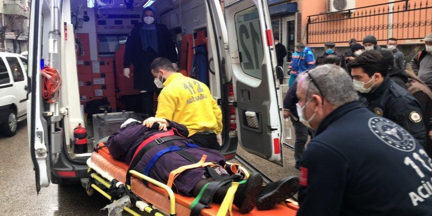 Bursa'da Kaza! Polis Aracının Çarptığı Kadın Yaralandı