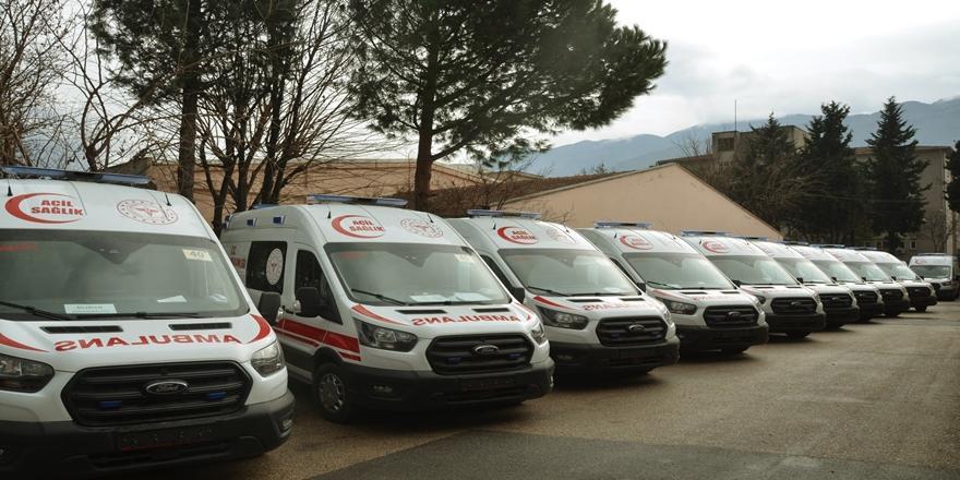 Sağlık Bakanlığı'ndan Bursa'ya 18 Yeni Ambulans!