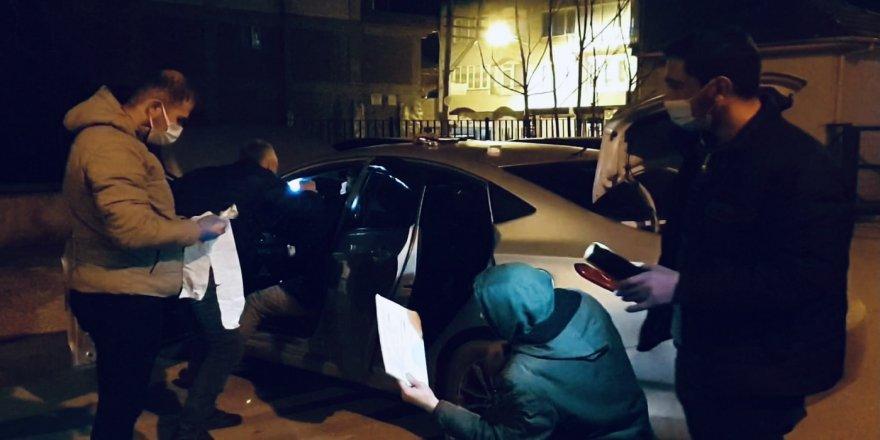 Bursa'da Kısıtlama Denetimi! Şüpheli Şahısların Üzerinde Uyuşturucu Bulundu