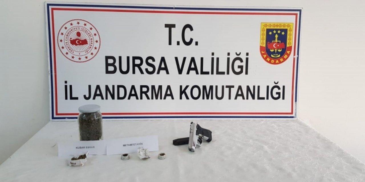 Bursa Yenişehir'de Uyuşturucu Şüphelisi Yakalandı!