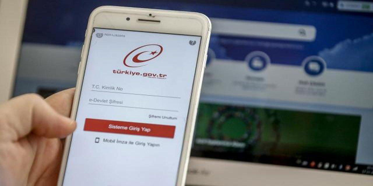 e-Devlet'te Geçen Yıl 2,3 Milyarı Aşan İnsan Kayıt Yaptı!