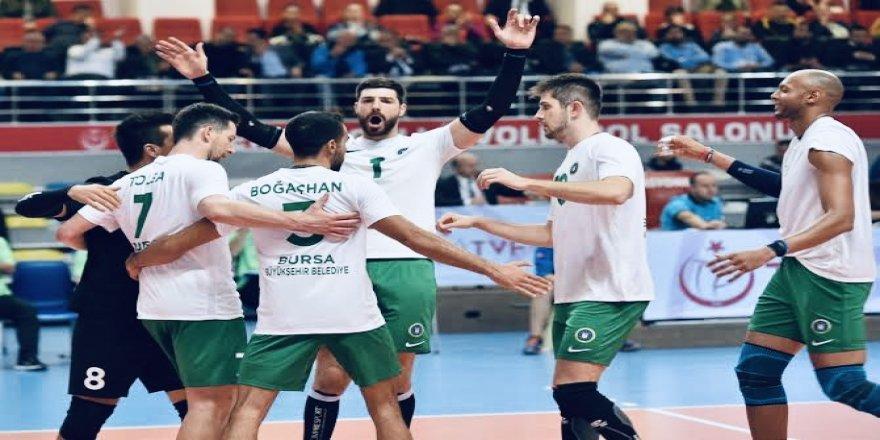 Axa Sigorta Efeler Ligi: Bursa Büyükşehir Belediyespor: 0 - Sorgun Belediyespor: 3