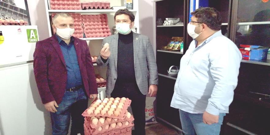 CHP Bursa Milletvekili Erkan Aydın'dan Yumurta Fiyatlarına Tepki!