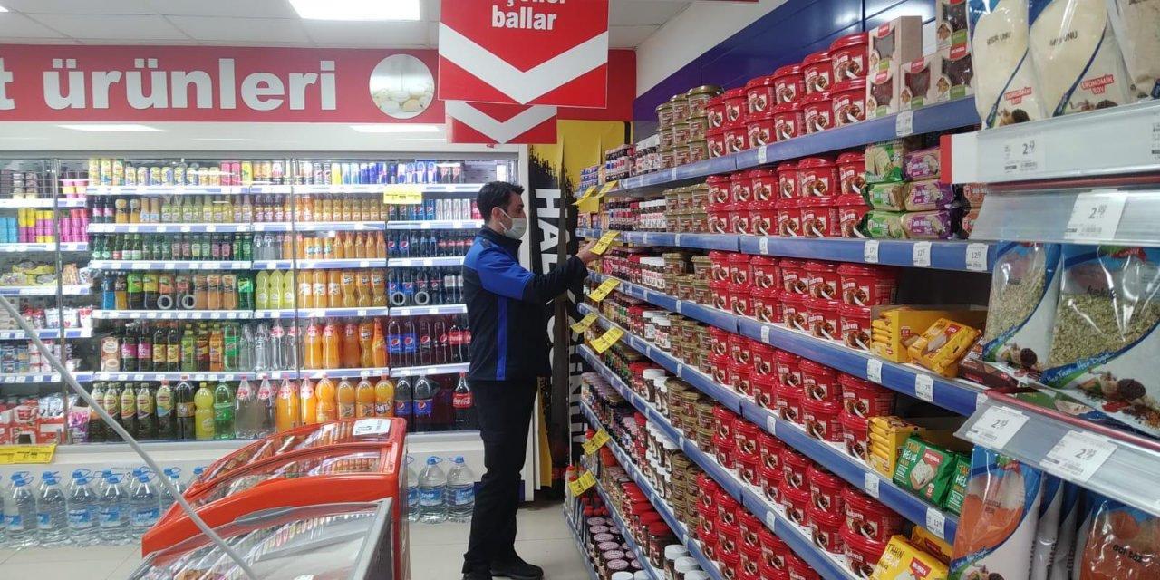 Orhangazi'de Zabıta Ekiplerinden Market Denetimi