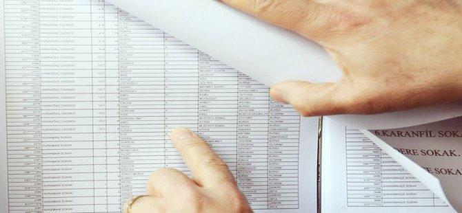 Seçmen listeleri 4 Ocak'ta askıda