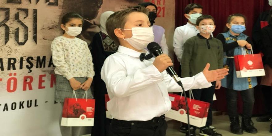 Gürsu Belediyesi Tarafından İstiklal Marşı Okuma Yarışması Düzenlendi