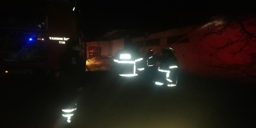 Bursa'da Çiftlikte Yangın! 2 Bin Tavuk Telef Oldu