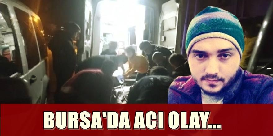 Bursa'da Evde Uyuşturucu PartisiYapan GençYaşamını Yitirdi