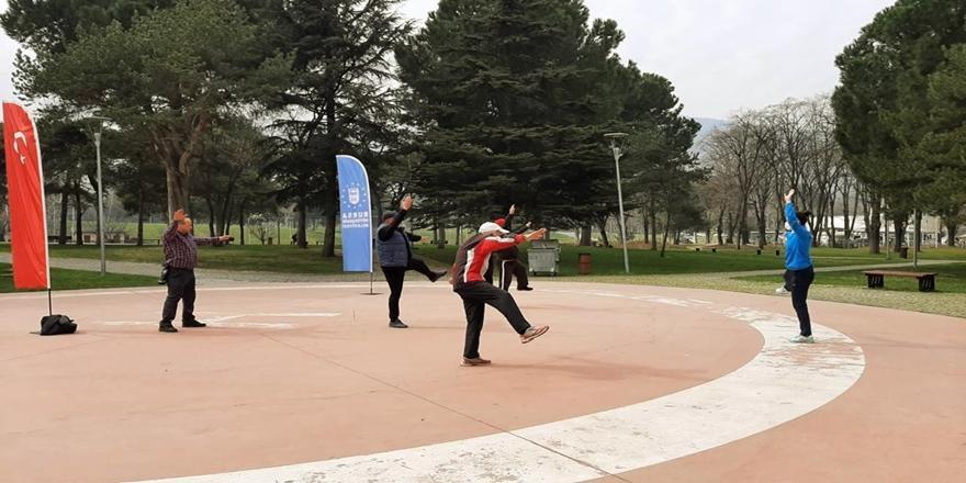 Bursa'da 65 Yaş Üstüne Özel Spor Etkinlikleri