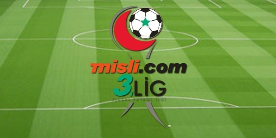 Misli.com 3. Lig 30. Hafta Sonuçları
