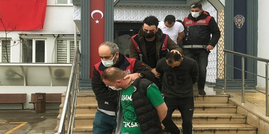 Bursa'da Hırsızlık Operasyonu! 8 Şüpheli Gözaltına Alındı