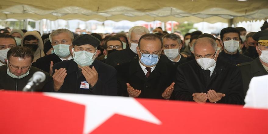 Bursa Valisi Canbolat Şehit Gökhan Çakır'ın Cenaze Törenine Katıldı