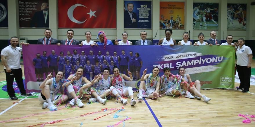 Bursa'nın Perileri Türkiye Kadınlar Basketbol Ligi Şampiyonu!