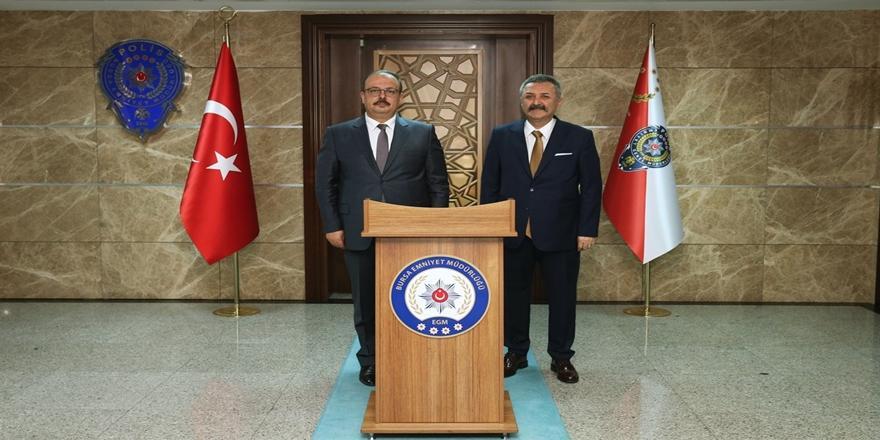 Bursa Valisi Canbolat'tan Polis Haftasında Emniyet Müdürlüğüne Ziyaret