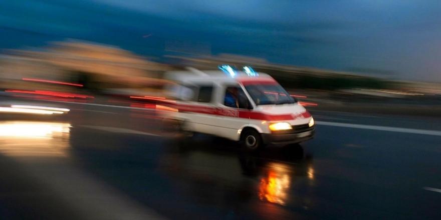 Bursa'da Kaza! Otomobille Motosikletin Çarpışması Sonucu 1 Kişi Yaralandı