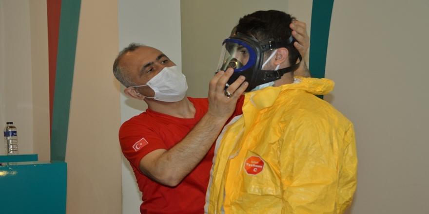 Bursa'da Çekirge Devlet Hastanesi Personeline KBRN Farkındalık Eğitimi!