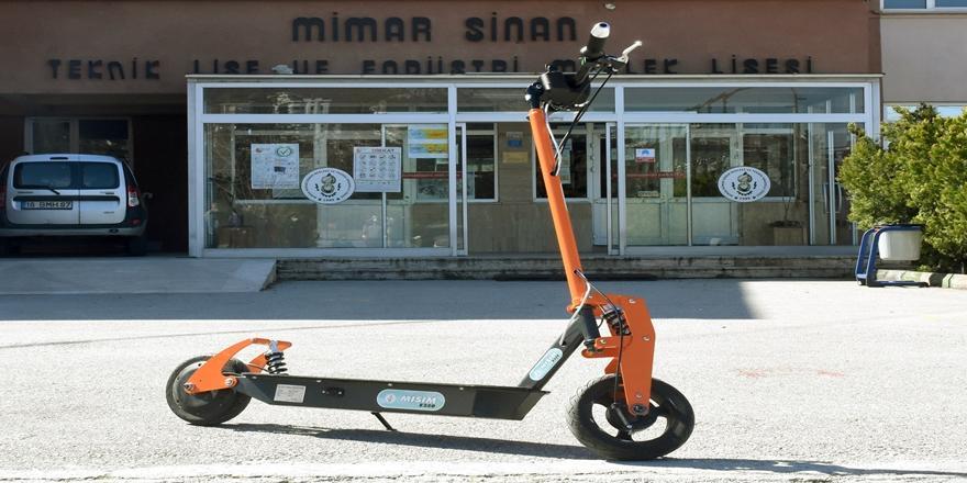 Bursa'da Meslek Lisesinde Üretilen Elektrikli Scooterlara Yoğun İlgi!