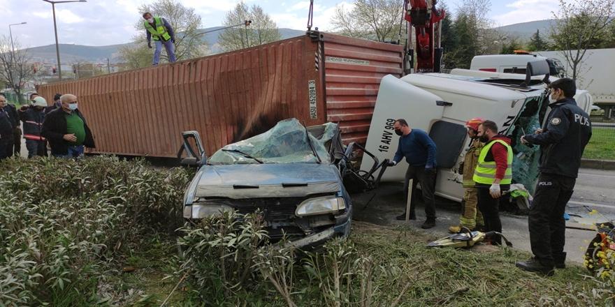 Orhangazi'deki Bir Kişinin Öldüğü Kazayla İlgili Tır Şoförü Tutuklandı