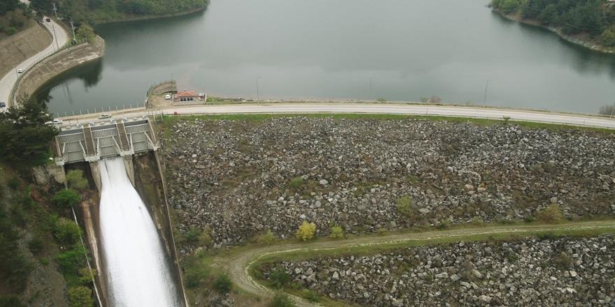 Bursa'da Doğancı Barajı'nda Su Salınmaya Başlandı