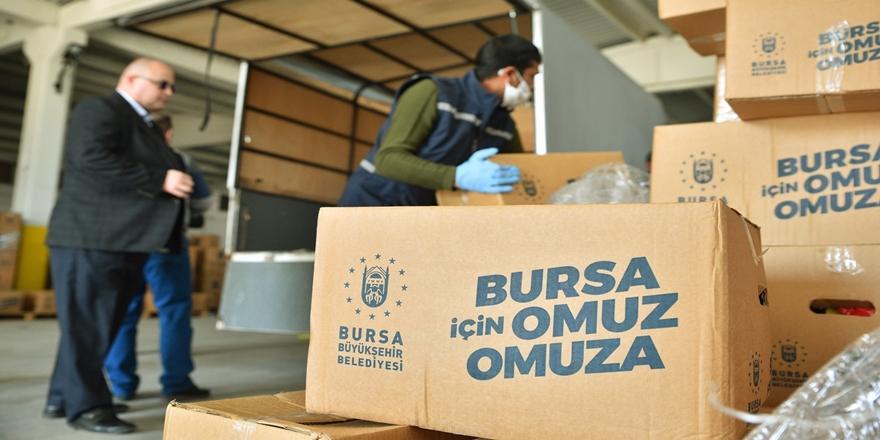 Bursa'da Büyükşehir Belediyesi Kapanma Sürecinde 50 Milyon Liralık Destek Verecek